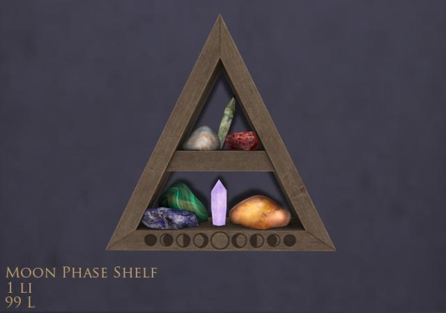 Moon Phase shelf mp