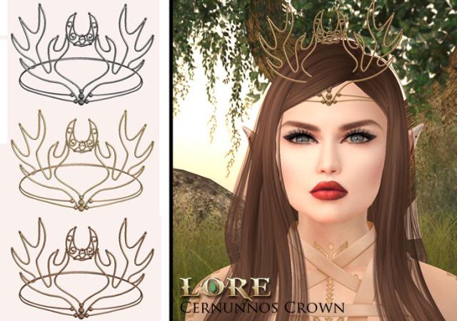 Cernunnos crown ad