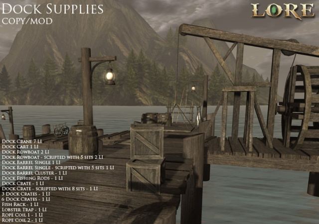 Dock Supplies