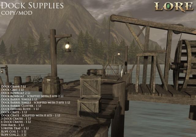 Dock Supplies