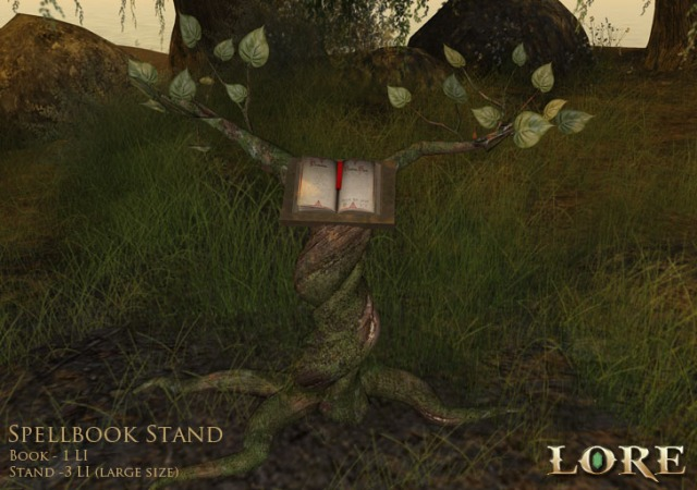 Spellbook Stand Ad