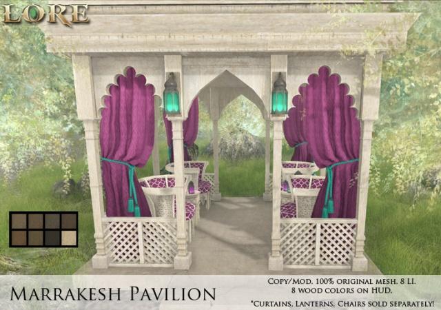 Marrakesh Pavilion Ad