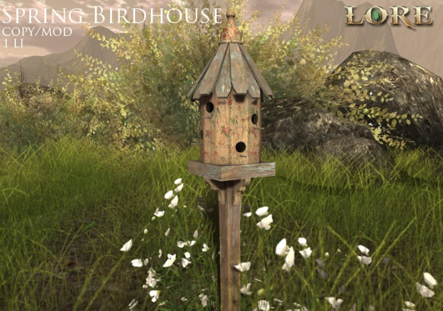 Spring Birdhouse ad