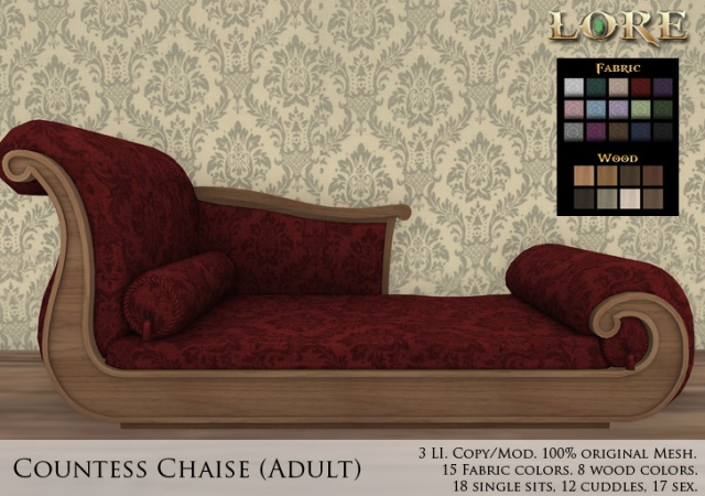 Countess Chaise Adult Ad