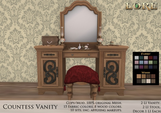 Countess Vanity Ad