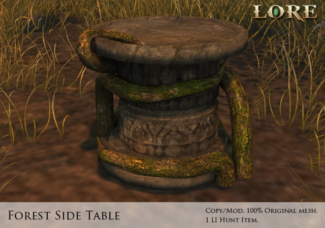 Forest Side Table Ad