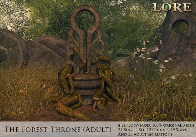 Forest Throne Adult Ad