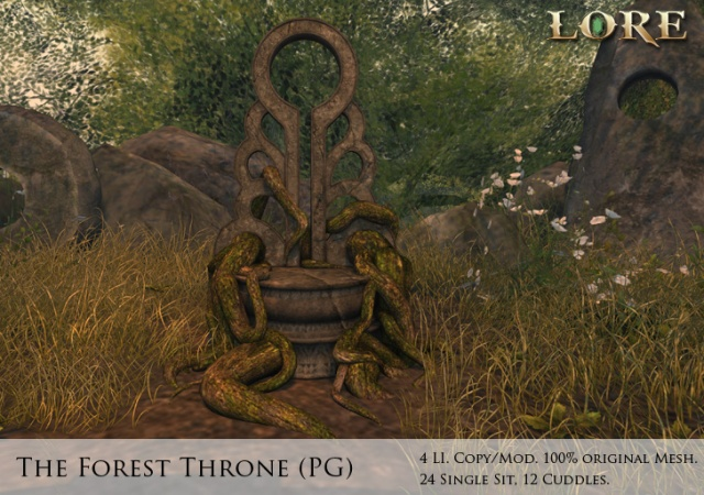 Forest Throne PG Ad