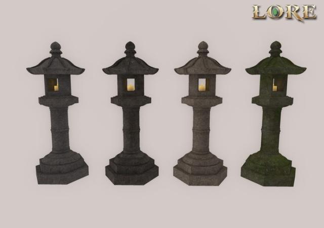 ishi-doro lanterns