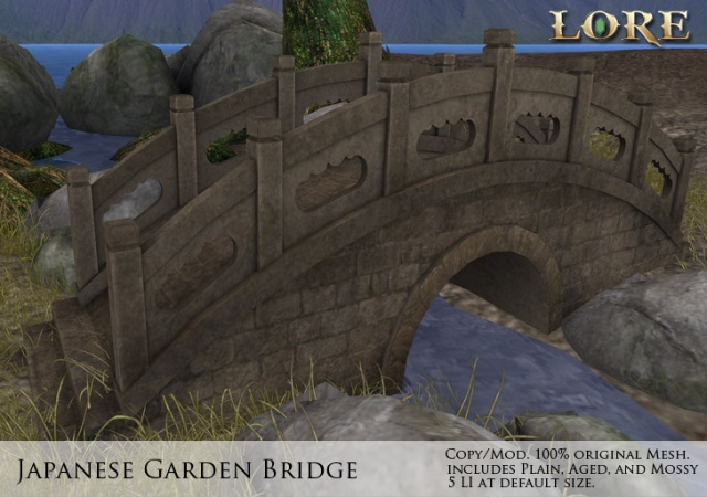 japanese garden bridge ad