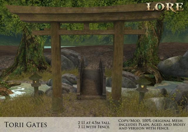 Torii Gate Ad