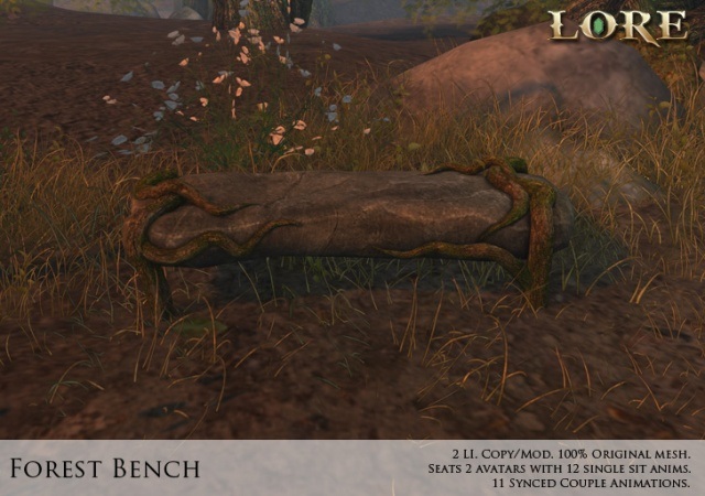 Forest Bench Ad