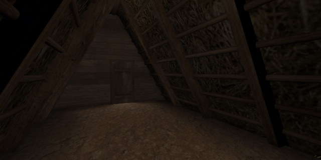 Viking Hut Interior