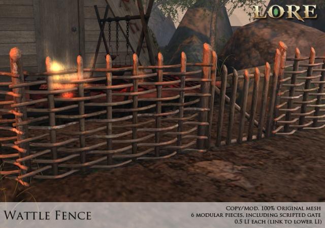 Wattle Fence Ad