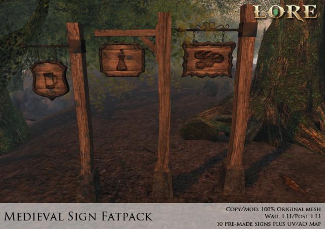 Medieval Sign Fatpack