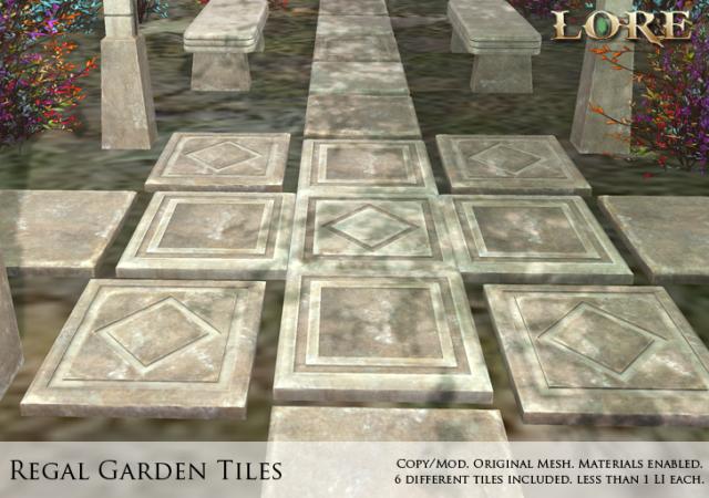 Regal Garden Tiles Ad