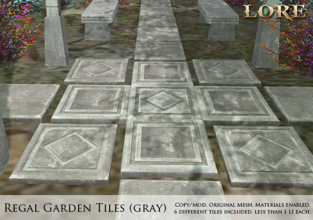 Regal Garden Tiles gray Ad