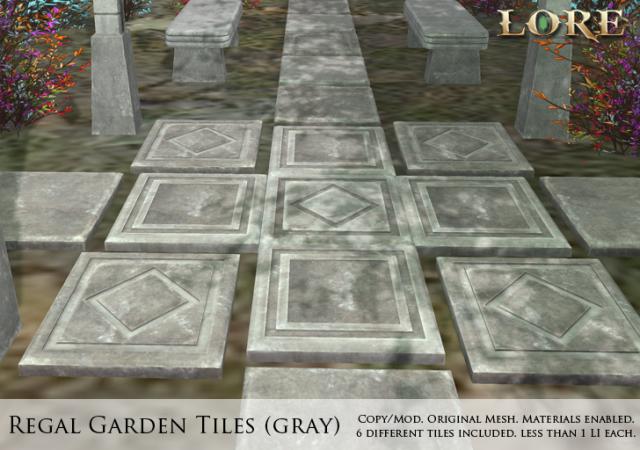 Regal Garden Tiles gray Ad