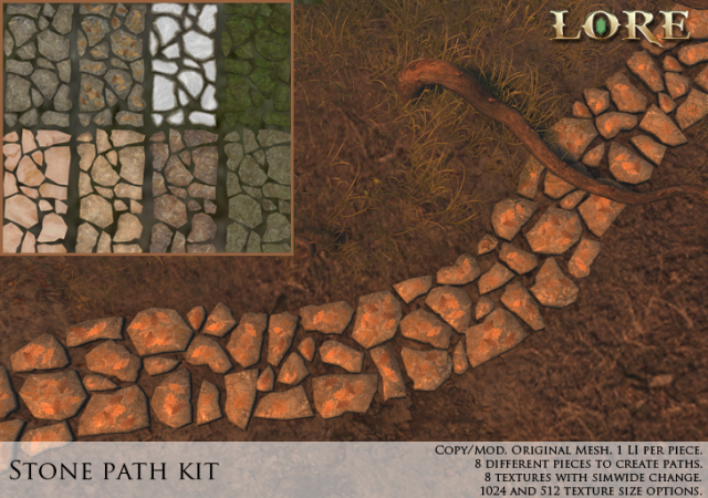 Stone Path Kit Ad