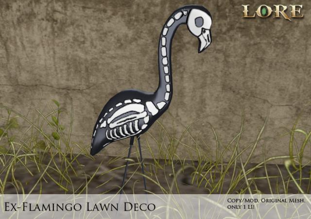 Ex-Flamingo Lawn Ad