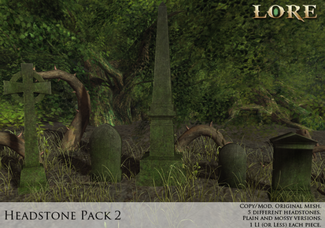 Headstone Pack 2 ad