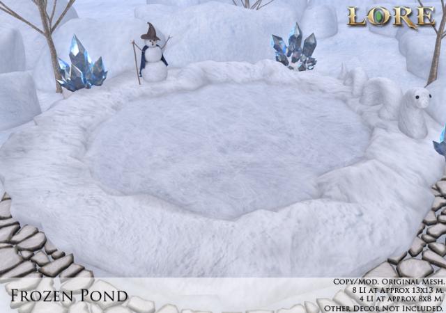 Frozen Pond Ad