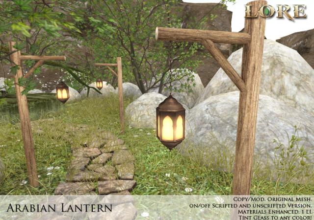 arabian lantern ad