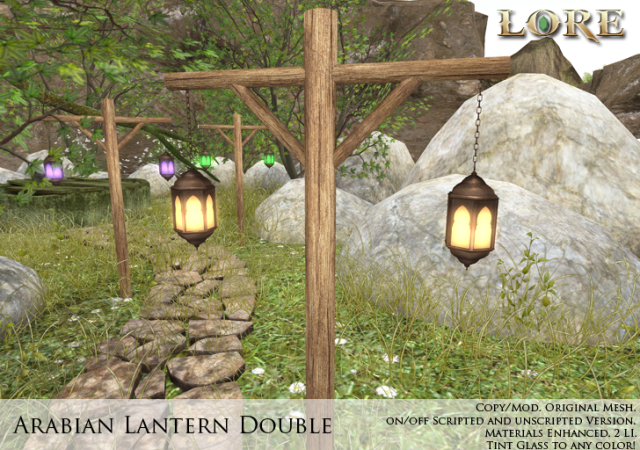 arabian lantern double ad