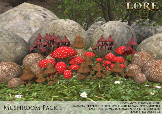 Mushroom Pack 1 Ad