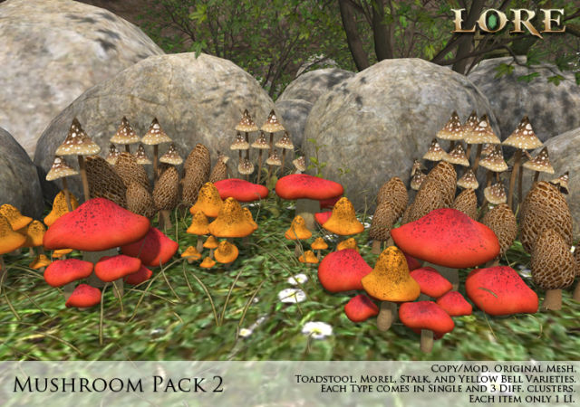 Mushroom Pack 2 ad