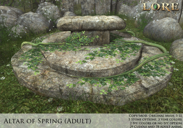 Altar of Spring Adult Ad