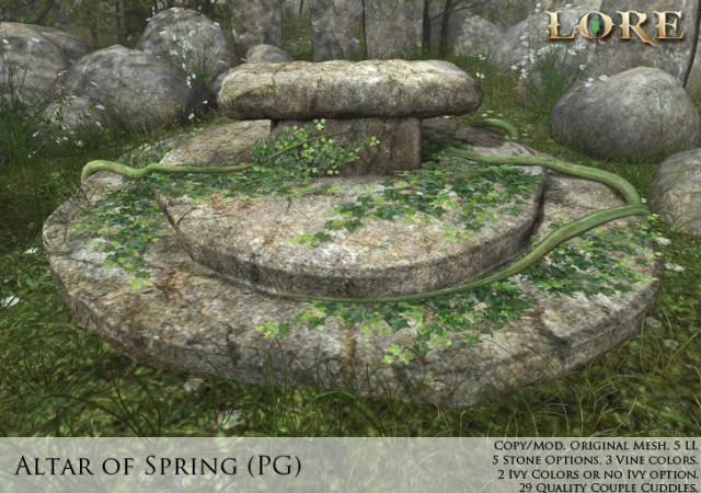 Altar of Spring PG Ad