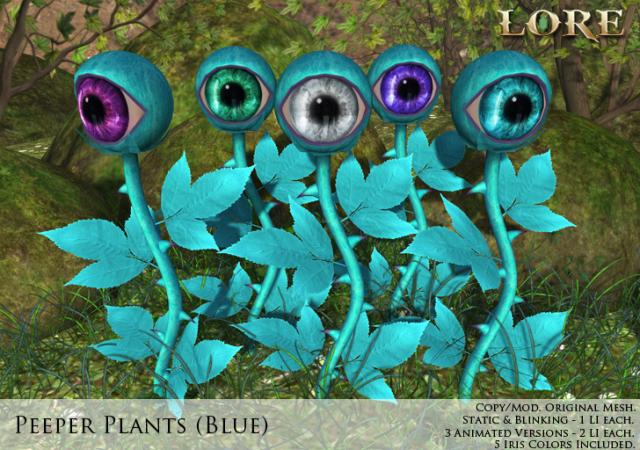 Peeper Plant Ad blue