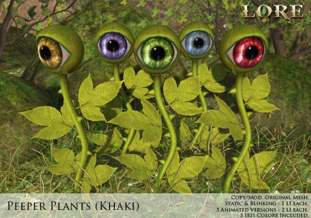 Peeper Plant Ad khaki