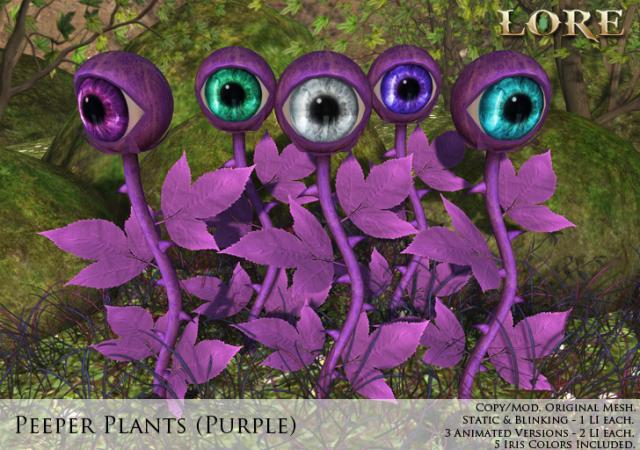 Peeper Plant Ad purple