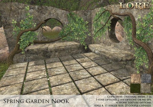Spring Garden Nook Ad