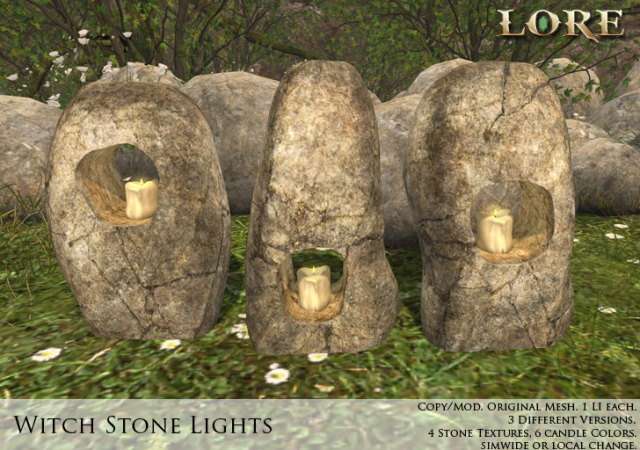 Witch Stone Light Ad