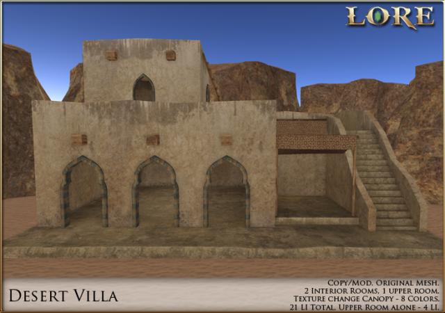 Desert Villa Ad