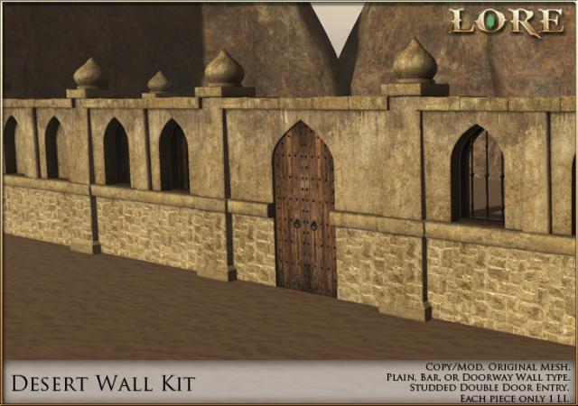 Desert Wall Kit Ad