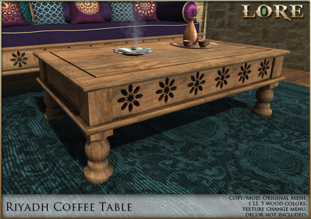 Riyadh Coffee Table