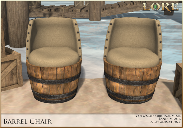 Barrel Chair Ad