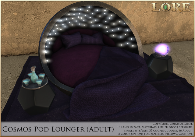 Cosmos Pod Lounger adult ad