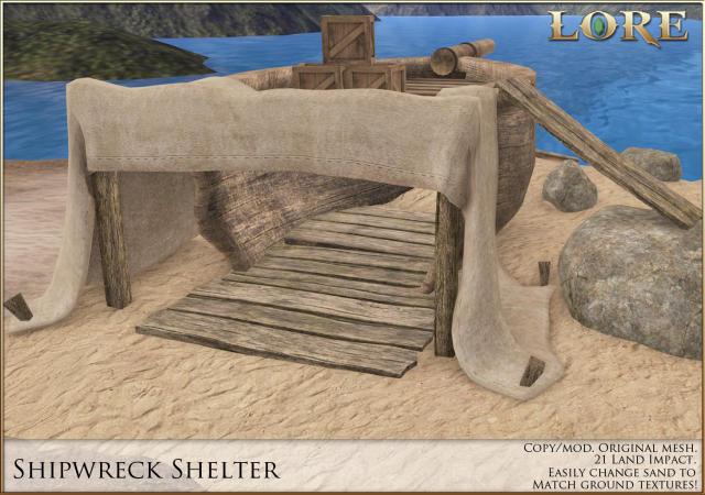 Shipwreck Shelter Ad