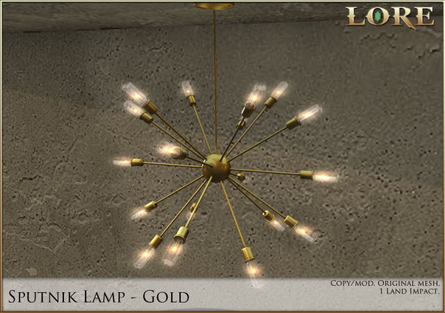 sputnik lamp gold ad