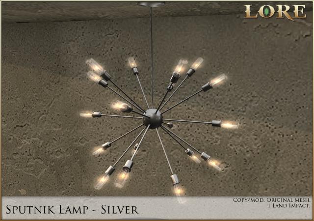 sputnik lamp silver ad