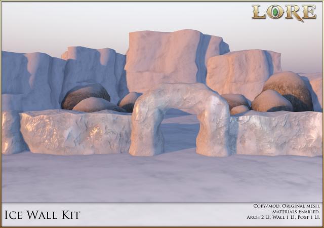 Ice Wall Kit ad