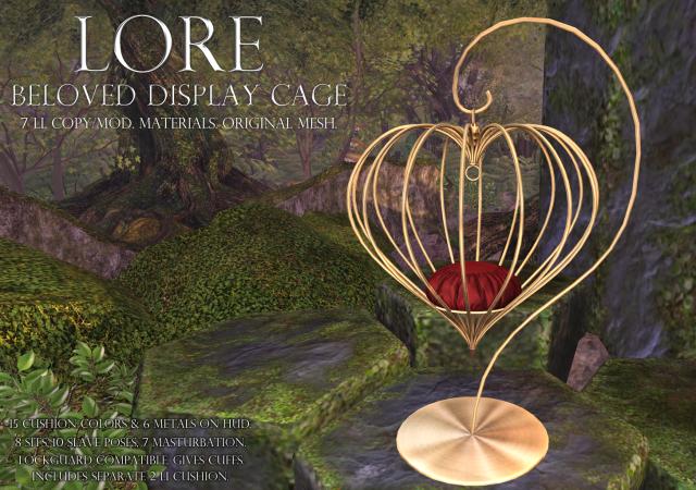 Beloved Display Cage Ad.png