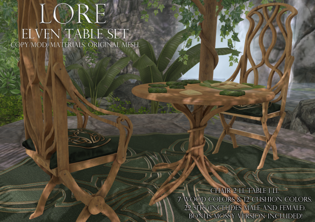 elven table set ad (lore)