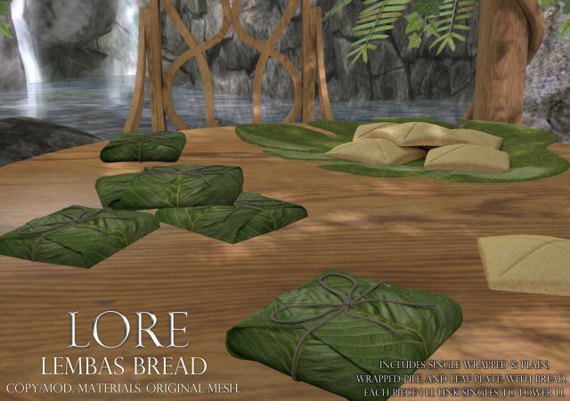 lembas bread ad (lore)