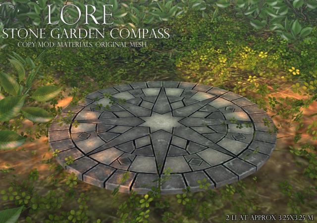 stone garden compass ad